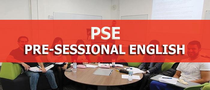 Pre-Sessional English (PSE)